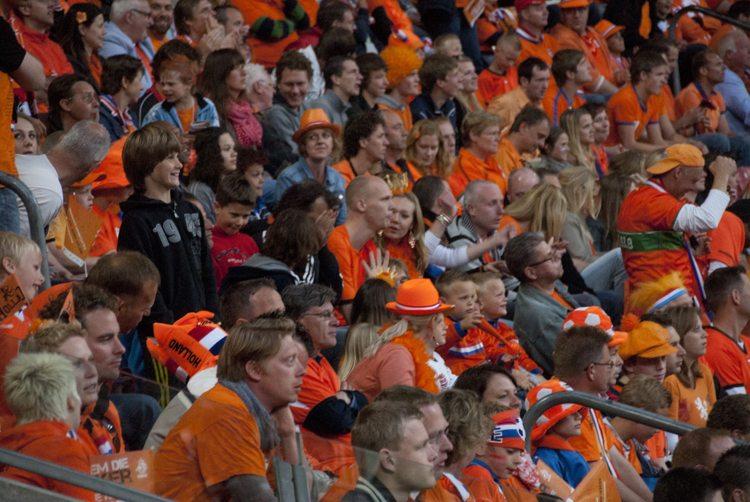 Supporters (Nederland - Noord Ierland)