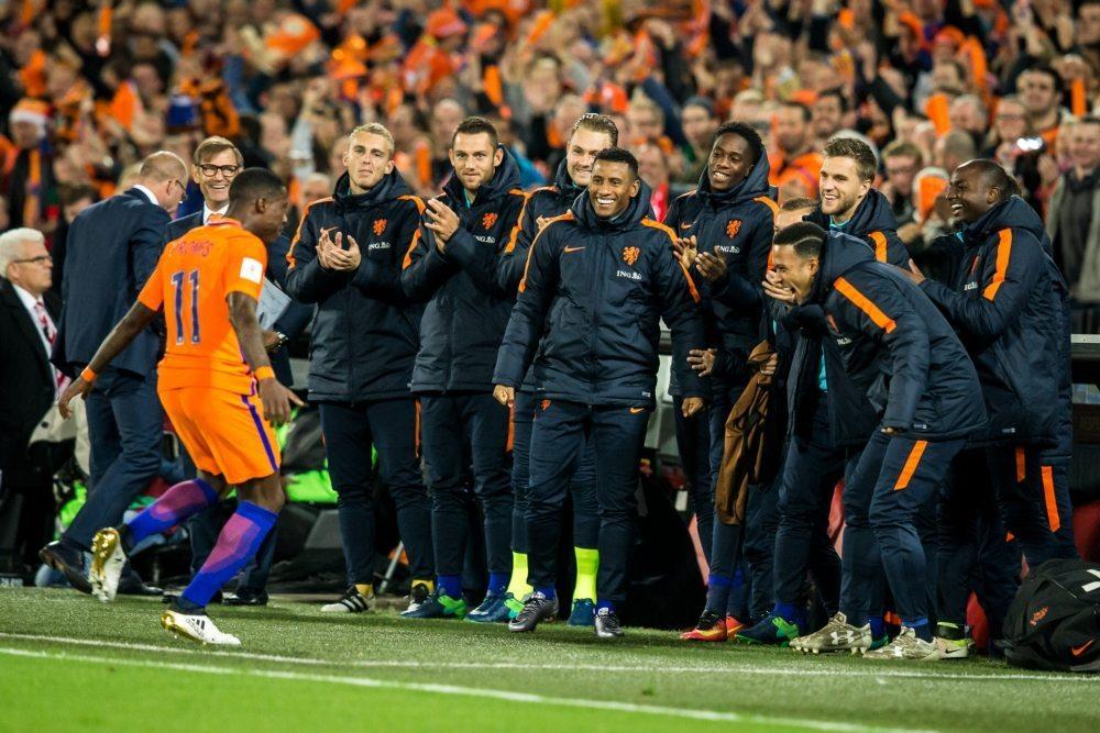 Oranje viert overwinning Wit-Rusland