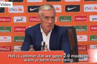 Didier Deschamps: 'We hebben verdiend gewonnen'