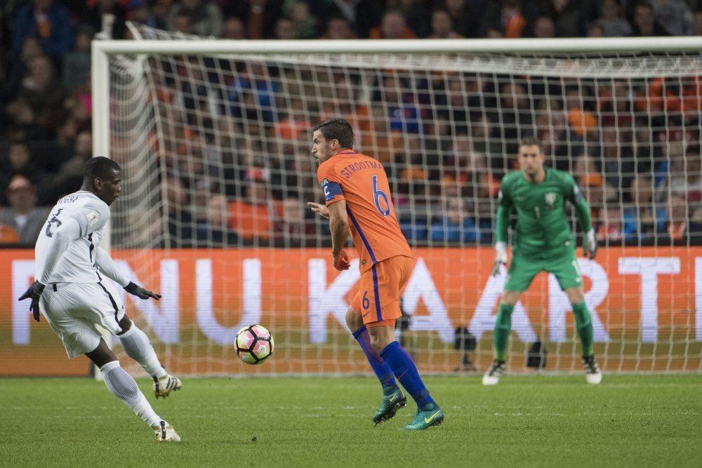 Nederland ongelukkig onderuit tegen Frankrijk