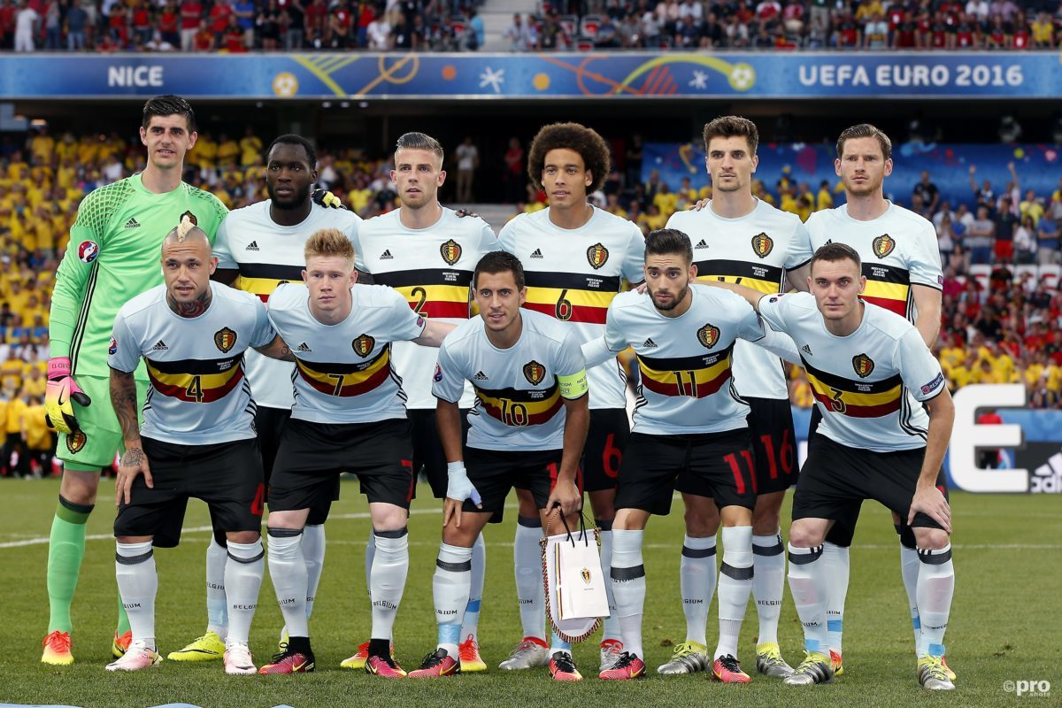 De selectie van België tegen Nederland