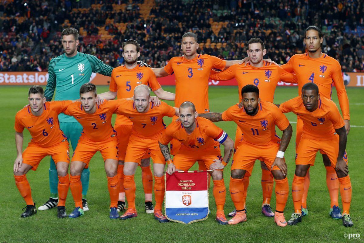 De vermoedelijke opstelling voor Luxemburg - Nederland