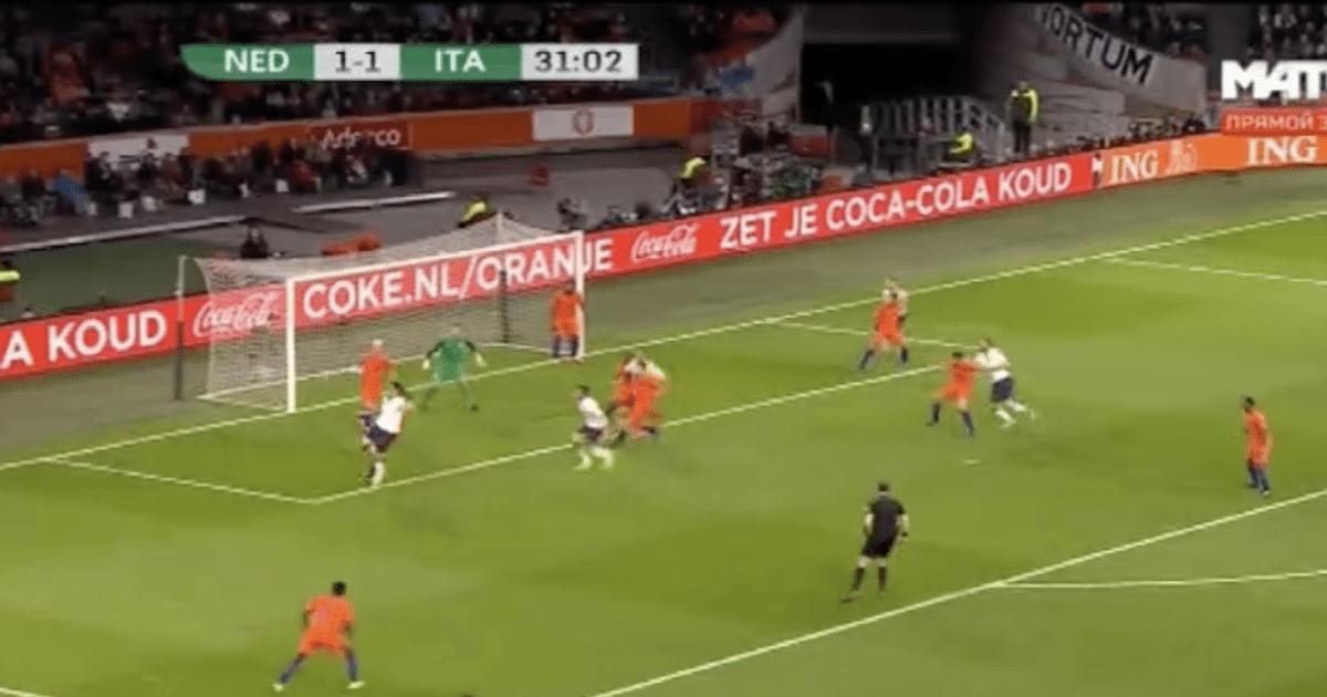 Italië zet Oranje op achterstand