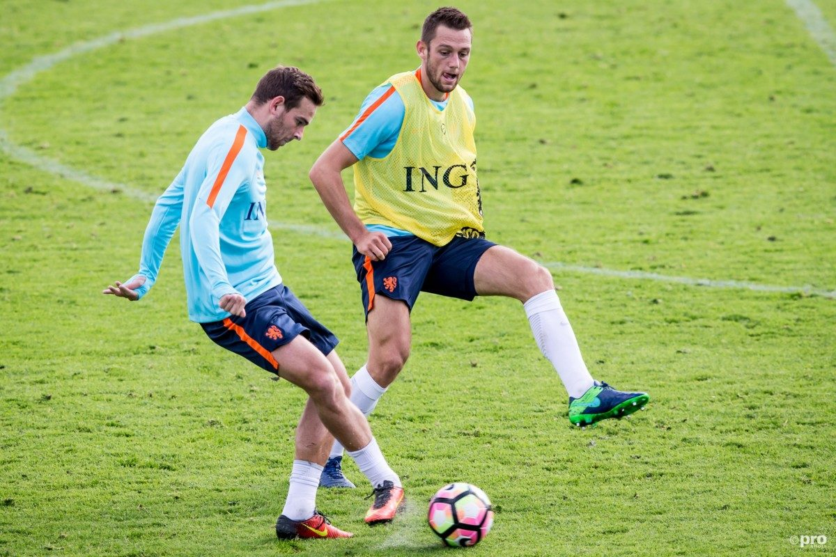 Janssen ontbreekt op training