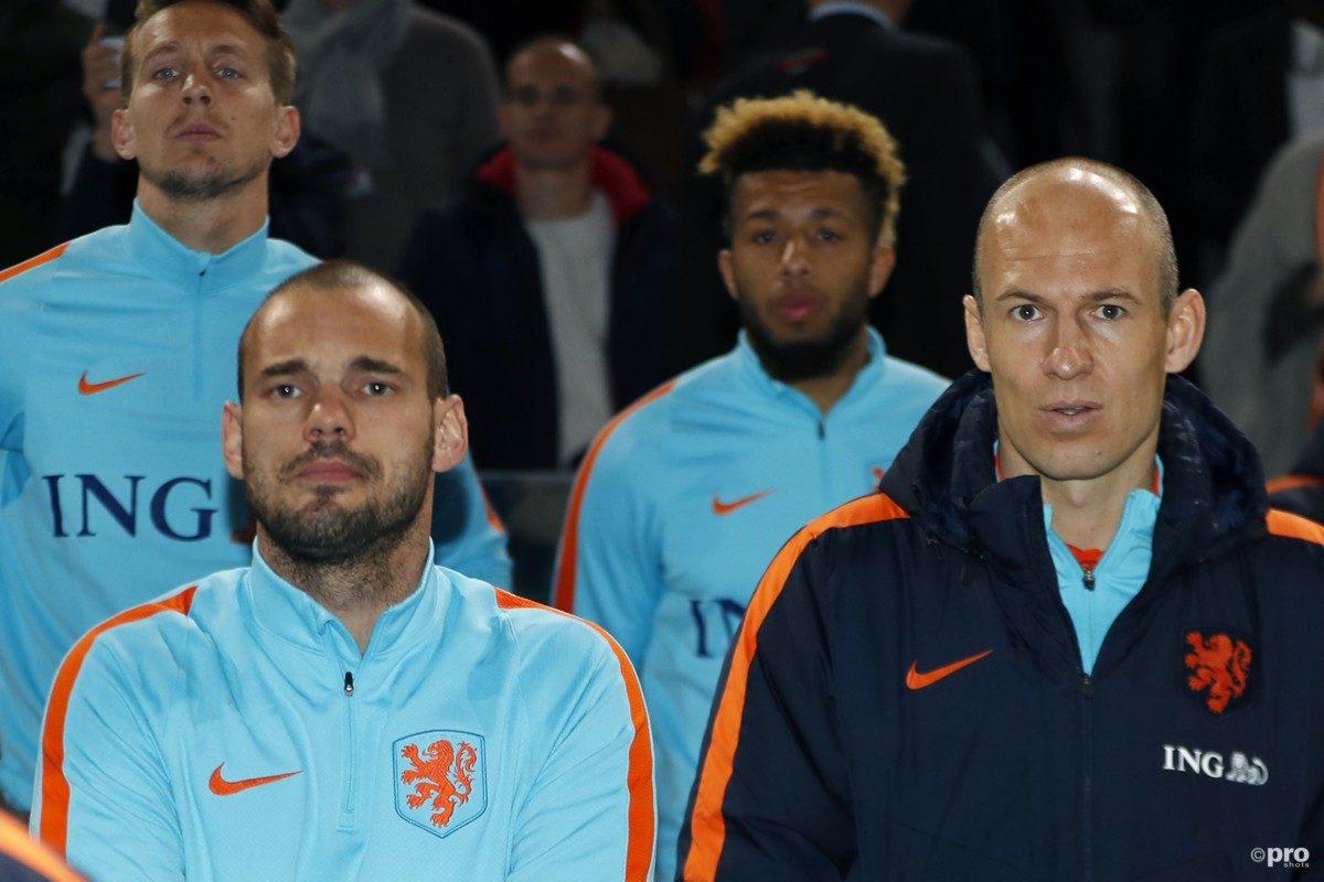 Robben en Sneijder willen nieuwe bondscoach kiezen
