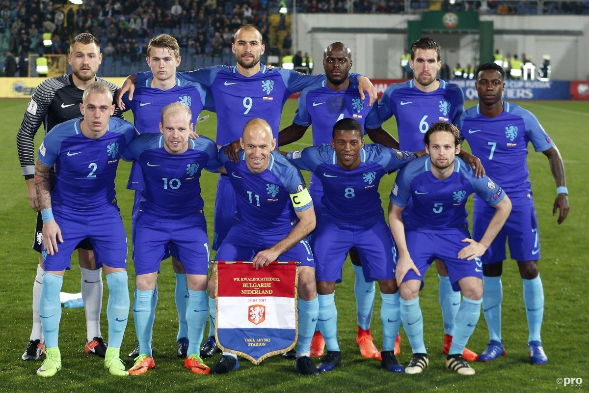 Vermoedelijke opstelling Nederland - Italië