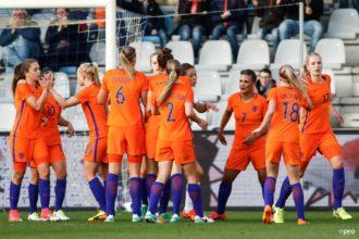 Oranjevrouwen drogen IJsland af