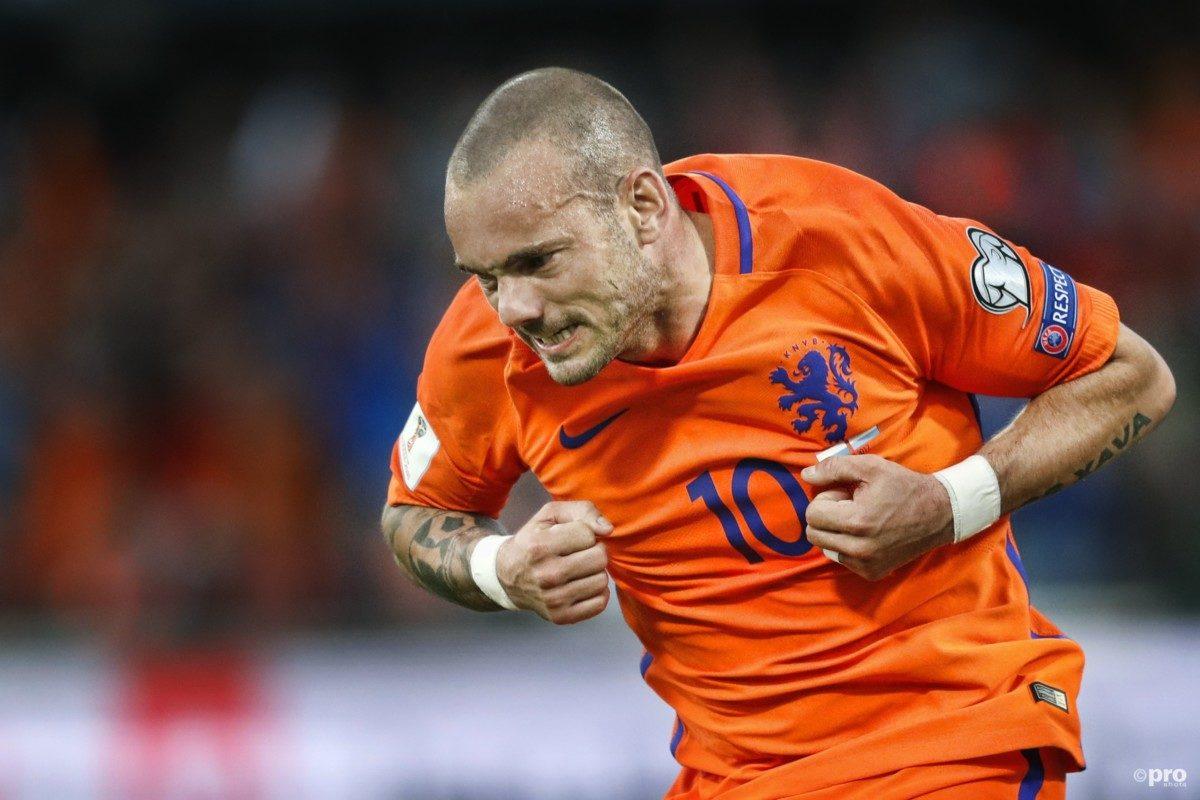 'Sneijder denkt nog lang niet aan stoppen'