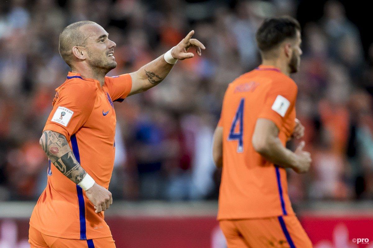 "Sneijder een gelukkig mens, maar: ""Die uitslag helpt niet mee"""