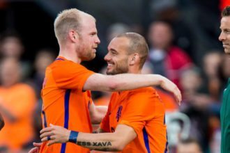 Sneijder recordinternational van Oranje
