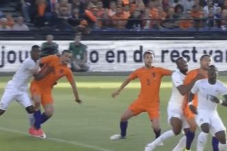 VIDEO: Veltman zet Oranje op voorsprong met eerste interlandgoal