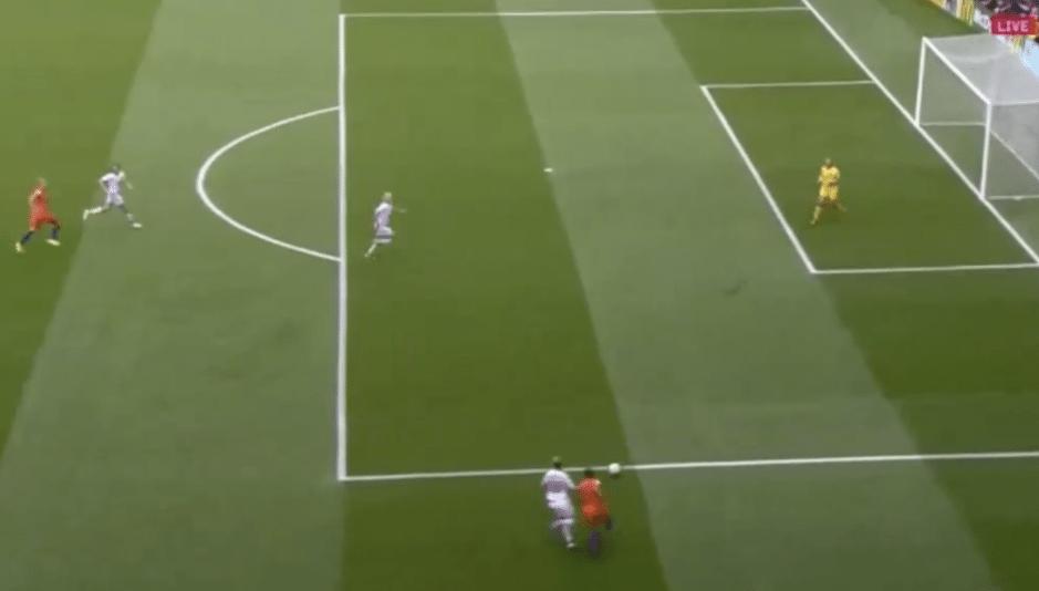 Denemarken op voorsprong via strafschop, maar Oranje komt snel terug