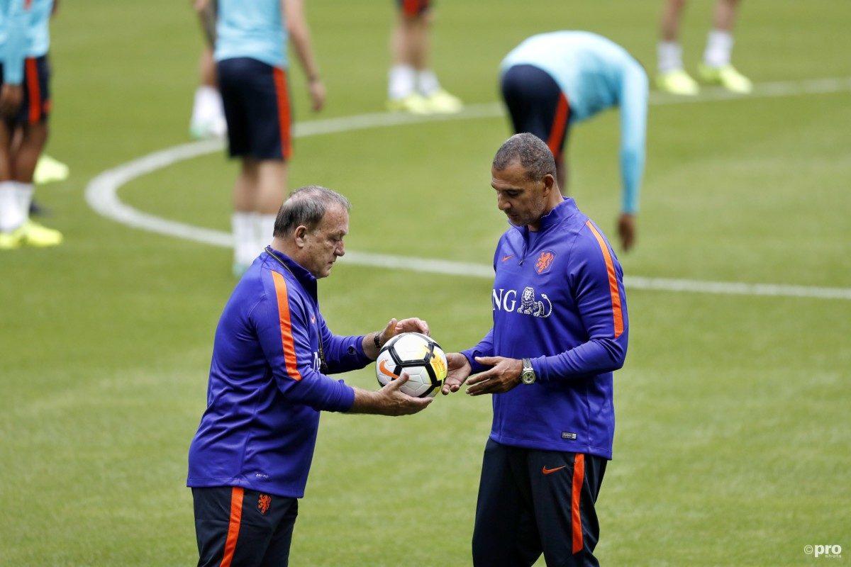 Opstelling Oranje tegen Frankrijk