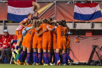 Bekijk hier het oefenduel van de OranjeLeeuwinnen tegen Oostenrijk