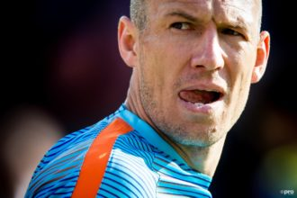 Slecht nieuws voor Oranje: Robben breekt training af
