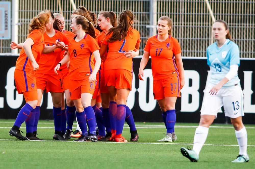 Vrouwen Onder 19 ongeslagen naar halve finale EK