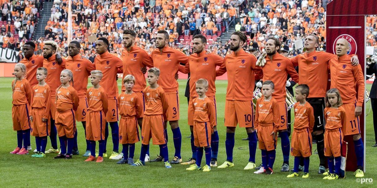 De virtuele stand in de poule van Oranje na Bulgarije