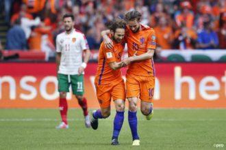 Oranje verslaat Bulgarije met 3-1