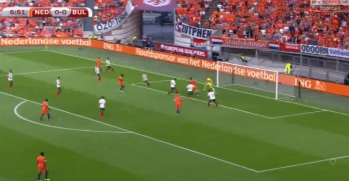 Pröpper zet Oranje op voorsprong tegen Bulgarije