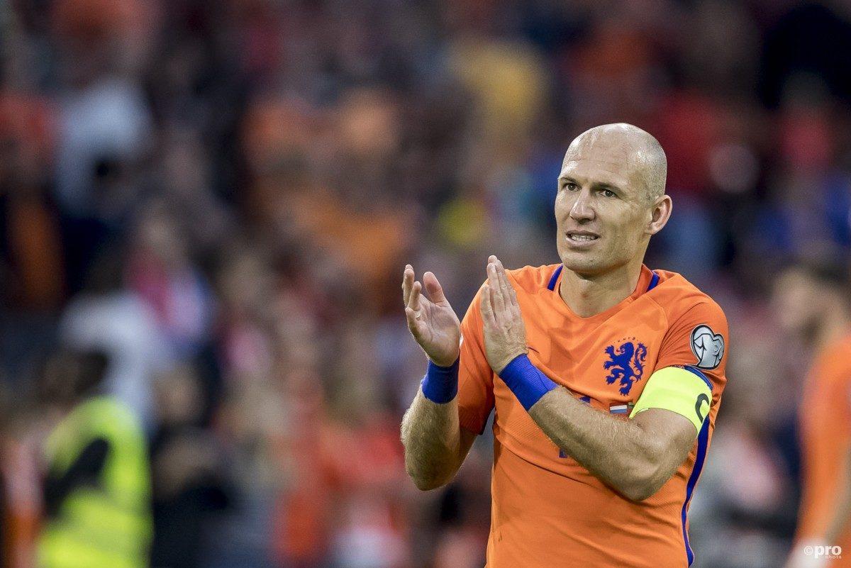 Robben blijft kritisch op winnend Oranje