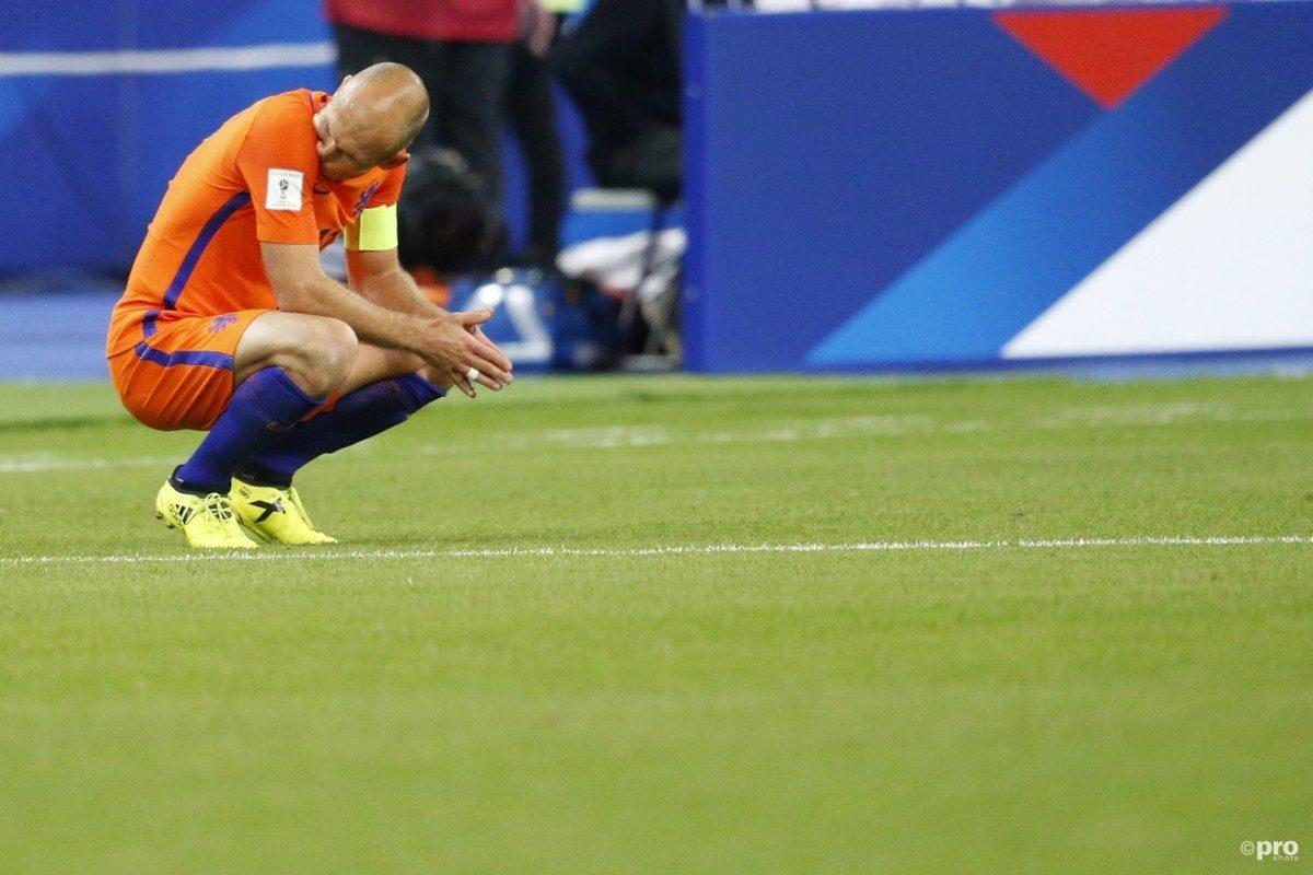 'Robben is een potentieel gevaar voor Oranje'