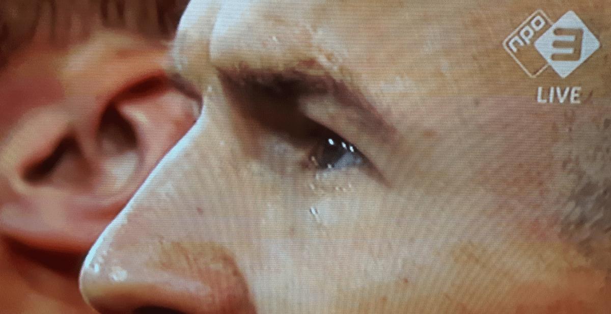 De traan van Robben verraadt het einde