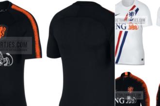Dit worden de nieuwe trainingsshirts van Oranje