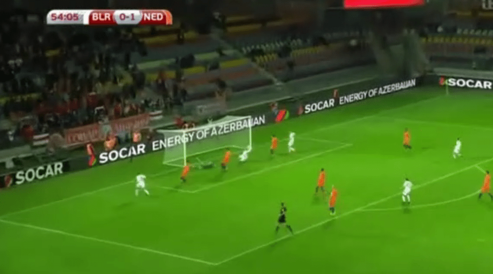 Drama in Borisov, Wit-Rusland komt op 1-1