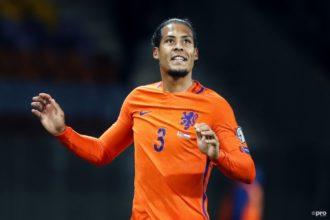 KNVB 'vergeet' Van Dijk