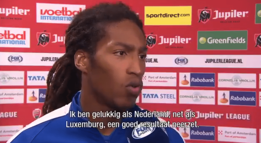 Luxemburg-aanvaller: 'Ik hoop dat Oranje het redt!'