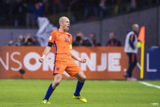 Nederland niet naar WK 2018, maar Robben neemt waardig afscheid