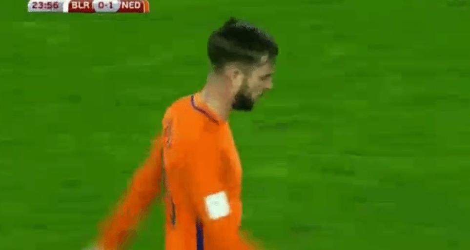 Pröpper zet Oranje op 0-1 voorsprong