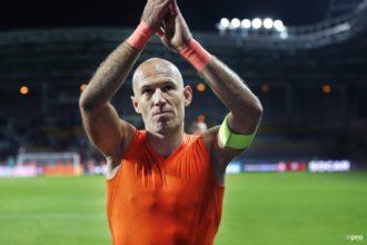 """Robben weet dat het voorbij is: """"Laat het telraam maar thuis"""""""