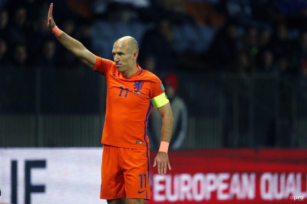 'Robben wil nog niets kwijt over toekomst'