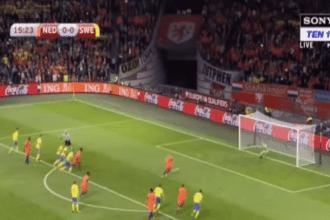 Robben zet Oranje op 1-0!