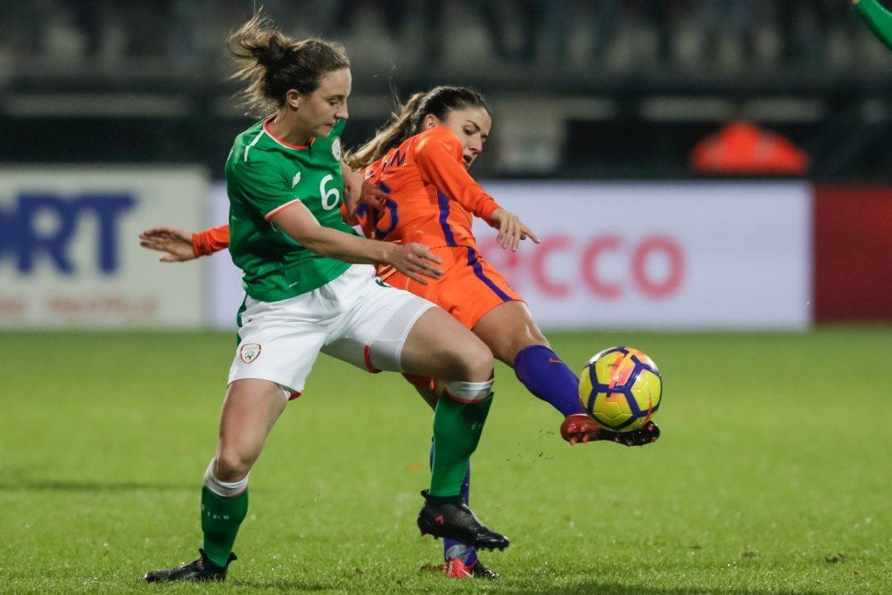 OranjeLeeuwinnen sluiten 2017 af met gelijkspel tegen Ierland