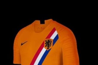 Wordt dit het nieuwe shirt van Oranje?