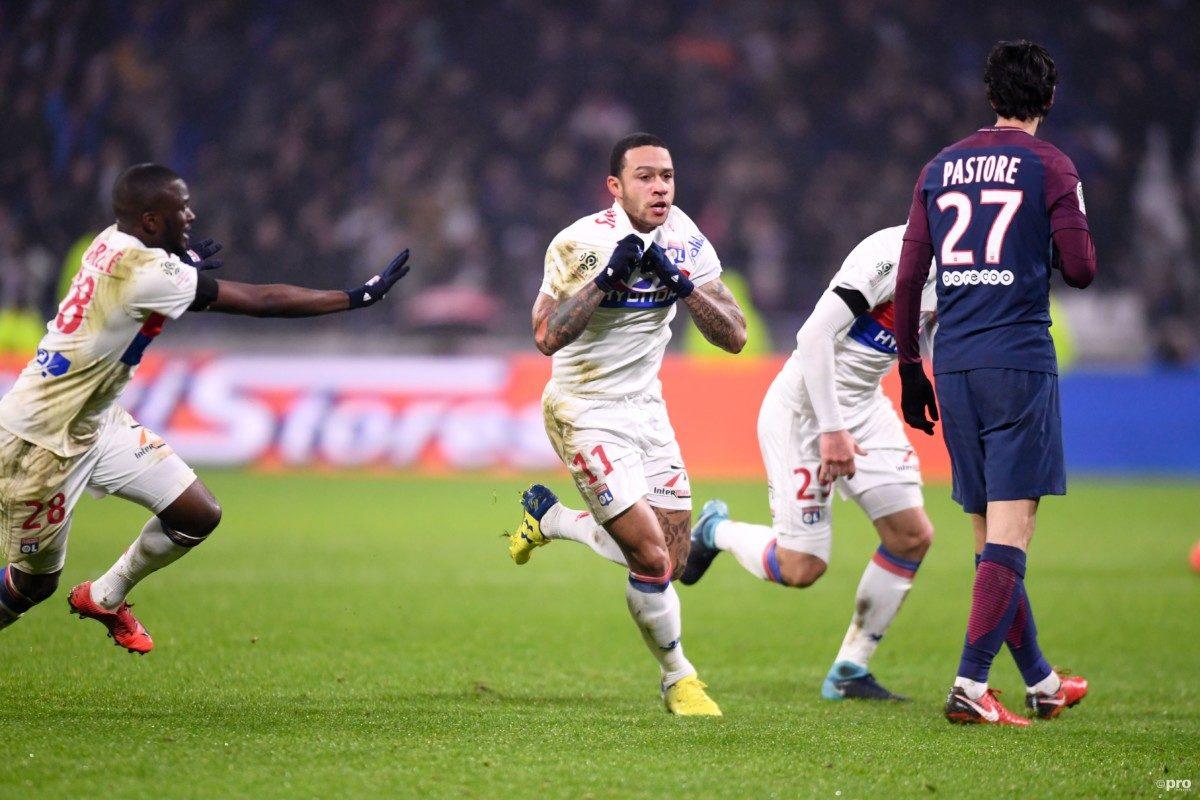 Memphis schiet Lyon schitterend langs PSG