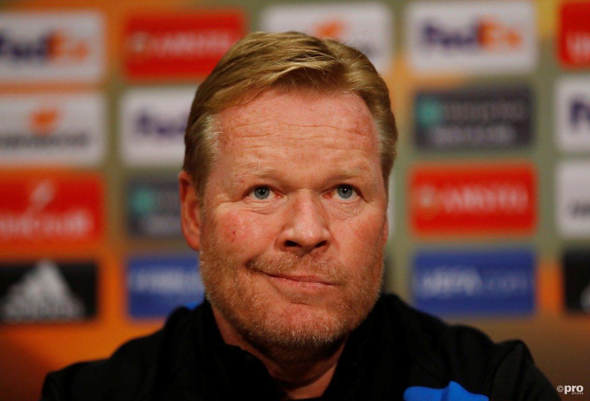 LIVE: Ronald Koeman bondscoach van het Nederlands elftal