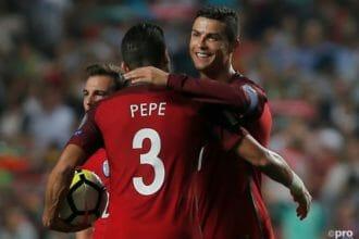 Portugal mét Ronaldo maar zonder andere bekenden
