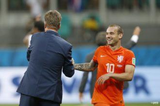 'Sneijder hoopt op nieuwe rol bij Oranje'