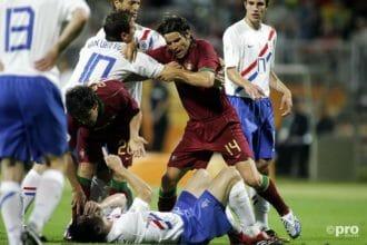 Wedstrijd van toen: Portugal – Nederland in 2006
