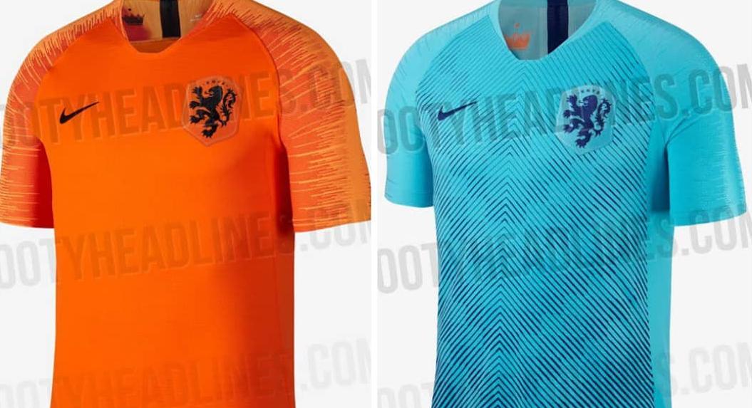 Zijn dit de nieuwe shirts van Oranje?