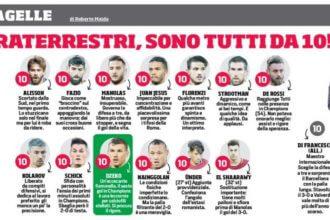 Italiaanse krant geeft Strootman een tien