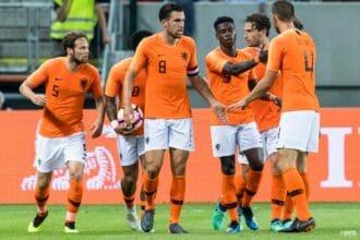 Oranje komt op 1-1 in Slowakije