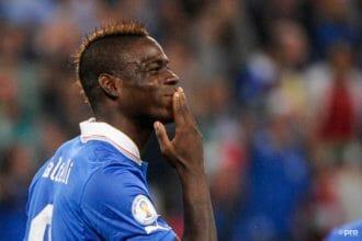 De selectie van Italië tegen Oranje