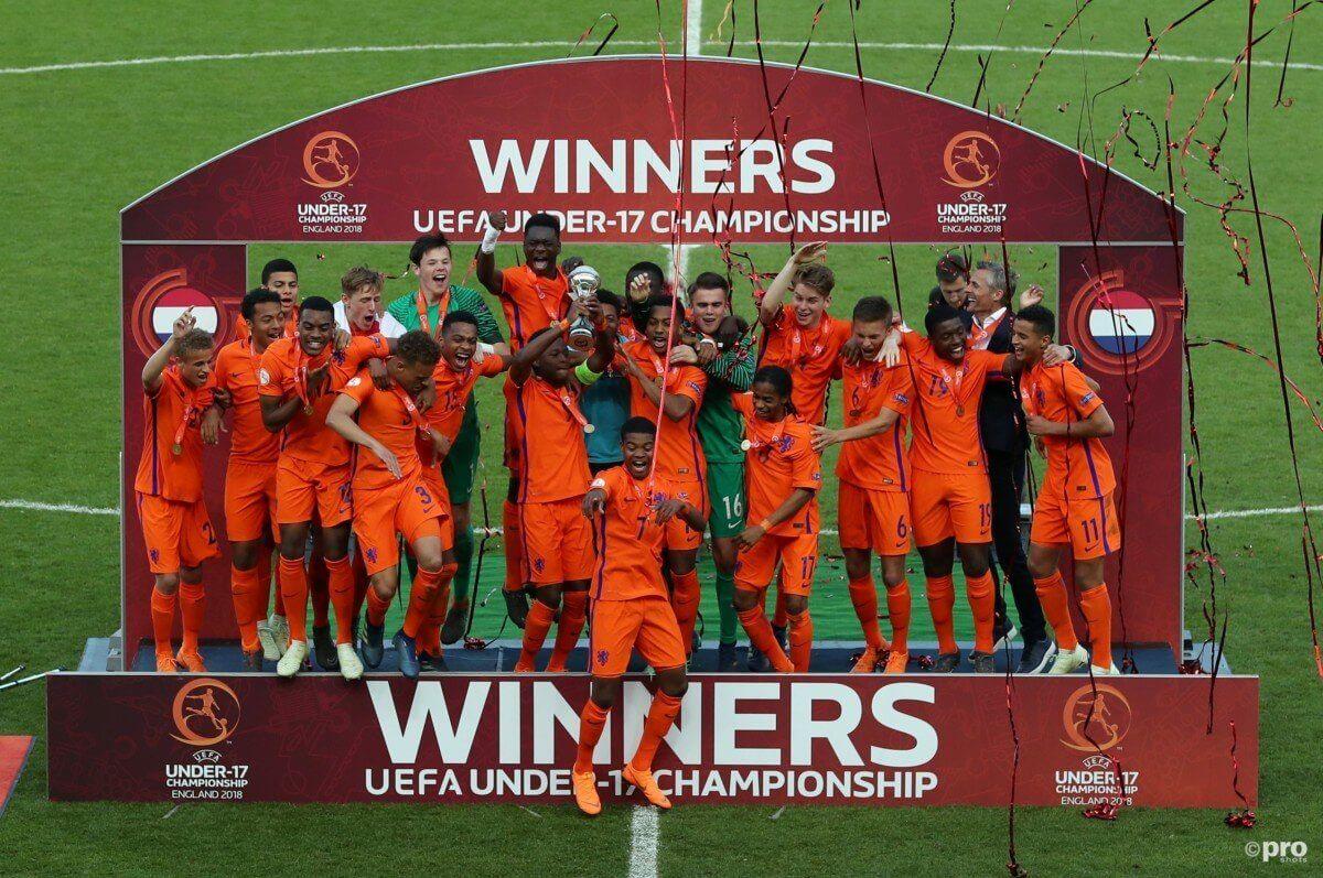 Oranje onder 17 Europees Kampioen