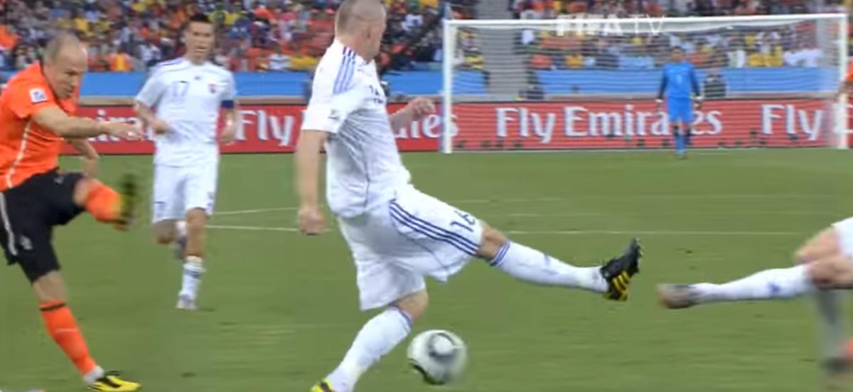 Wedstrijd van toen: Nederland - Slowakije op WK 2010