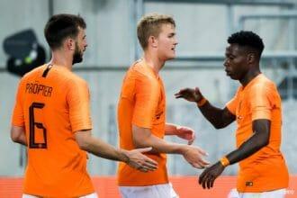 Zwak Oranje tegen Slowakije niet verder dan gelijkspel