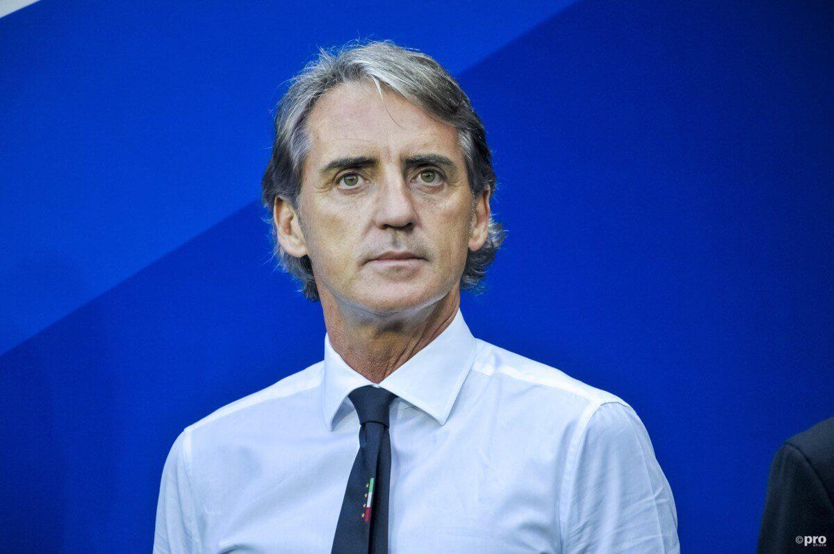 De opstelling van Italië tegen Oranje